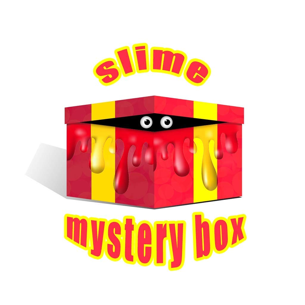 Toys Mystery Box with Random Slime and Squishies Kit 100% Surprise Gift for Girls, Boys
