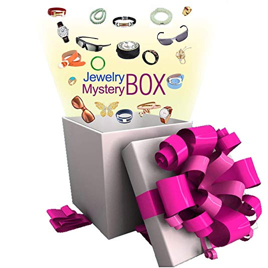 Jewelry Mystery Box - Worth 15 More 100% Surprise Gift for Women