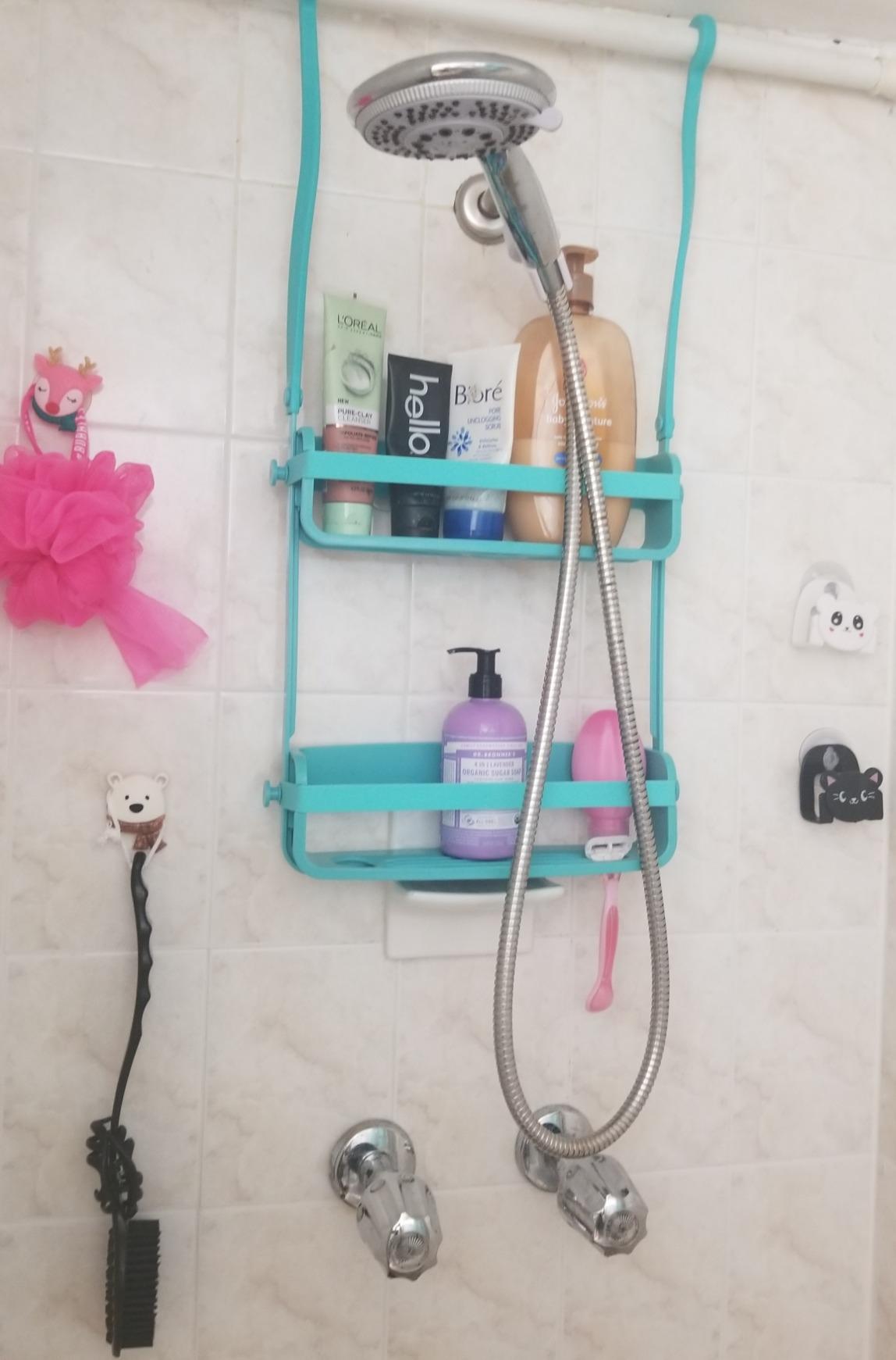 Exclusive Silicone Flex Shower Caddy - CZYY