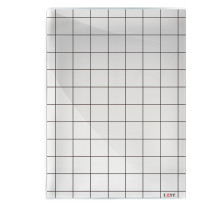 Acrylic Game Mat 1  Square Grid Overlay, 8 x11  Battle Map Board Clear & Durable - Great for Dungeons and Dragons, Pathfinder and Other Tabletop RPG