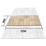 Dungeon Stone Square Floor Tiles (Set of 24) Wooden Laser Cut D&D Modular Terrain 1  Grid Perfect for Dungeons & Dragons, Pathfinder and Other Tabletop RPG