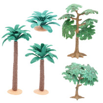 D&D Tree & Shrub Miniatures Set of 5 Wargaming Tabletop RPG Forest Scatter Terrain 28mm 32mm Scale Great for Pathfinder, SW Legion, Warhammer, 40k and Dungeons & Dragons