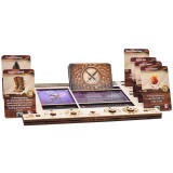 Gloomhaven/Frosthaven Player Character Dashboard with HP & XP Dial Trackers Set of 2 Birch for Saving Your Table Space