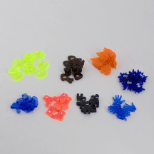 Condition Tokens Set of 60 Acrylic Status Effects Markers Game Accessories for Gloomhaven, Forgotten Circles and Jaws of the Lion