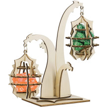 DND Dragon Dice Jail Prison Wood Hanging Cage for Your Bad Dice