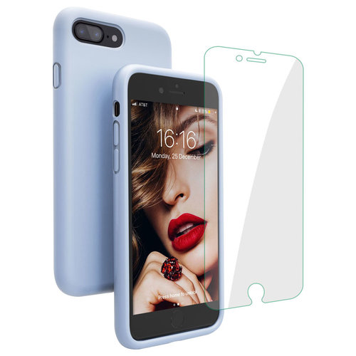 wholesale dealer 15e45 af36d The JASBON case for iPhone 7 Plus / iPhone 8 Plus - thicken liquid silicone  full protective phone case