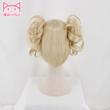 Toga Himiko Cosplay Wig My Hero Academia Woman Curly Gold Heat Resistant Synthetic Hair Boku No Hero Academia Wig Himiko Toga Cosplay Hair