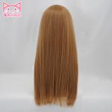 AniHut Kunikida Hanamaru Wig Love Live Sunshine Cosplay Wig Blonde 60cm Hair