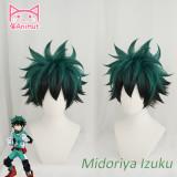AniHut My Hero Academia Izuku Midoriya Wig Boku No Hero Academia Cosplay Hair