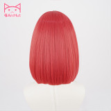 Anihut Anime Cosplay Wig Ruby Kurosawa Love Live Sunshine Hair Women Red Synthetic Hair