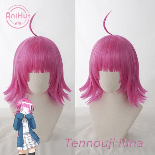 Anihut Tennouji Rina Cosplay Wig Love Live! Nijigasaki High School Idol Club Cosplay Hair Tennouji Rina Love Live PDP