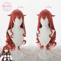 Anihut Eris Boreas Greyrat Cosplay Wig Mushoku Tensei Red Heat Resistant Synthetic Eris Boreas Cosplay Hair Halloween