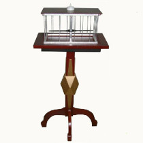 * Floating Table with Appearing Bird Cage - Deluxe