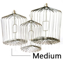 Appearing Bird Cage - 14 inch Steel, Medium