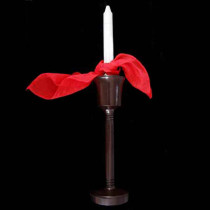 Silk Candle Tied