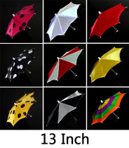 Mini Parasol Production - 13 Inch (10 Colors)
