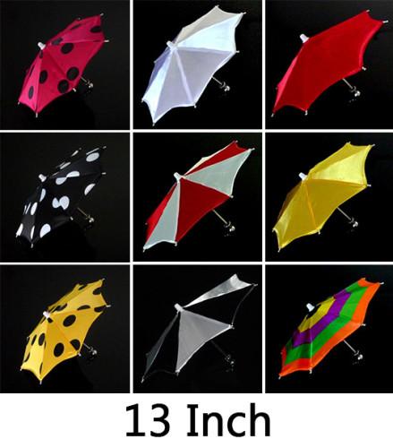 Mini Parasol Production - 13 Inch (10 Colors)