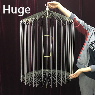 Appearing Bird Cage - 39 inch Steel, HUGE
