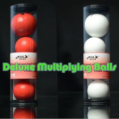 Deluxe Multiplying Balls - Red/White (43mm)