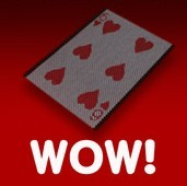 WOW! Card Trick+Spare Sleeve