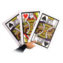 Automatic Three Card Monte - Giant, Plastic (45*30cm)
