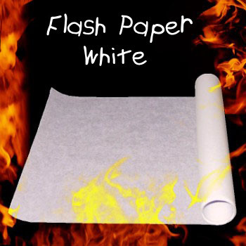 Flash Paper - White (50 cm x 21 cm)
