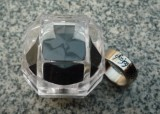 Magnetic Engraved PK Ring - Letter Pattern (18mm)