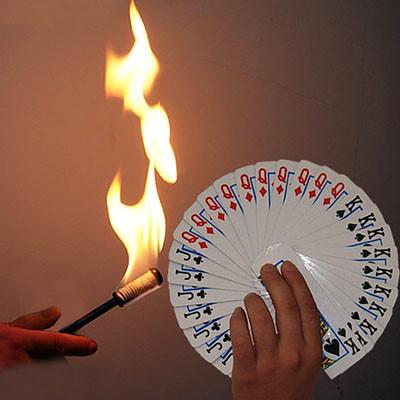 Torch to Card Fan