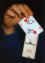 Card in Mousetrap