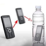 Cell Phone into Bottle
