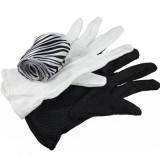 B/W Gloves To Zebra Streamer