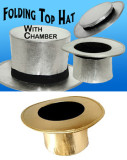 Folding Top Hat (Gold/Silver)