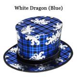 Folding Top Hat (Foliage/Gecko/Dragon)
