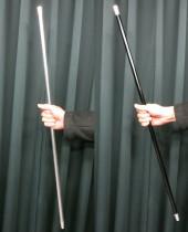 Dancing Cane - Folding Deluxe Aluminum (Auto Vanishing Thread Gimmick)