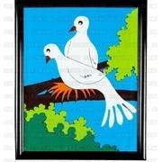 Dove Frame (Two Doves Version)