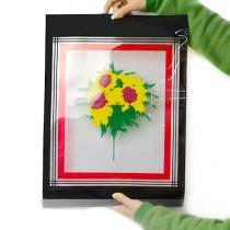 Crystal Flash Flower - Feather