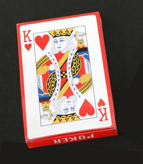 Jumbo Playing Cards (16.8cm x 11cm)