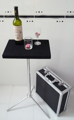 Glass Breaking Table - Remote Control By China Magic
