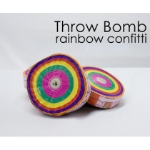 Throw Rainbow Bomb
