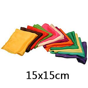 Magic Silks (15cm*15cm, 6 Colors)