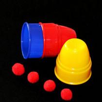 Cups & Balls - Standard - Plastic