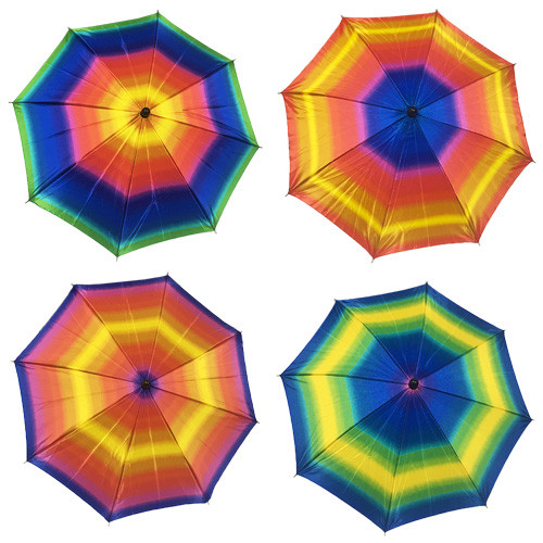 Professional Parasol Production - 26 Inch (Rainbow)
