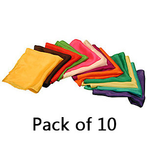 Magic Silks (Assorted, Pack of 10)