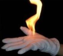 Fire Gloves (White/Black)