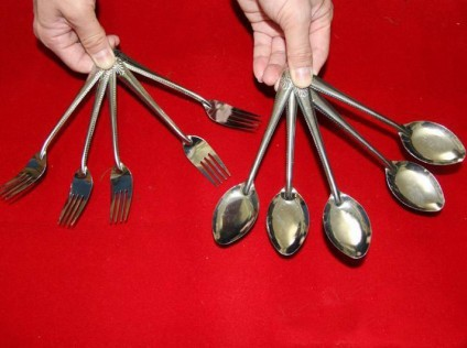 Multiplying Spoon and Fork