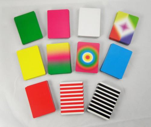 Fanning and Manipulation Cards (Black Back)