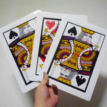 Automatic Three Card Monte - Jumbo (28x21cm)