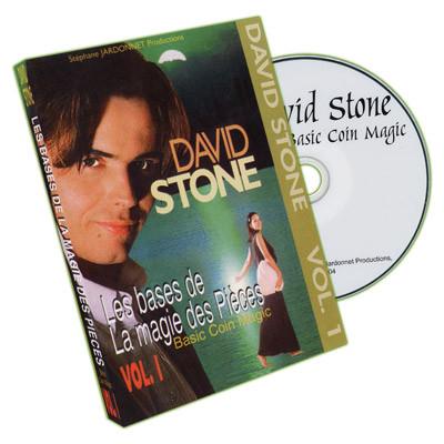 Coin Magic - by David Stone -Vol.1 .2. DVD
