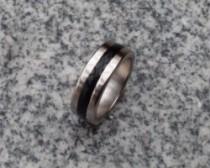 Magnetic Engraved PK Ring - Black Deluxe (6 Sizes)