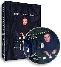 Jeff Sheridan Genius At Work - Volumes 1, 2, 3, 4 - DVD